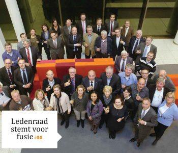 Ledenraad stemt voor fusie