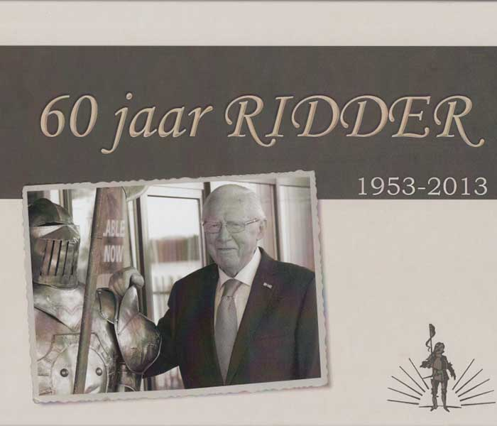 60 jaar ridder